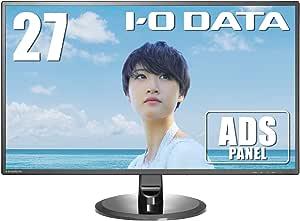 I-O DATA モニター 27インチ フレームレス ADS非光沢 スピーカー付 3年保証 土日サポート EX-LD2702DB
