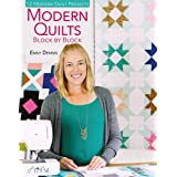 Modern Quilts Block by Block: 12 Modern Quilt Projects