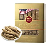 American Wisconsin Ginseng Root - Super Long Jumbo (4oz/box) Performance & Mental Health for Men & Women