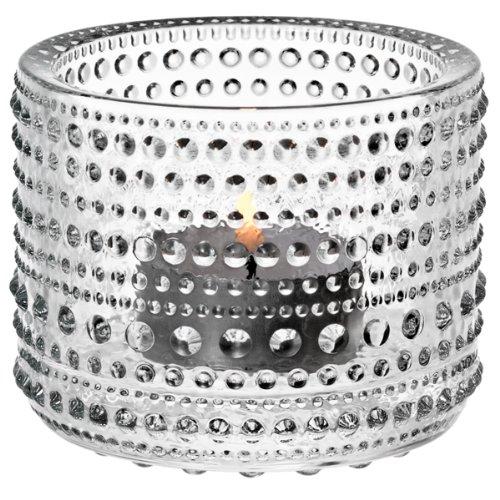 【正規輸入品】 iittala(イッタラ) Kastehelmi votive(カステヘルミ キャンドルホルダー) クリア 64mm