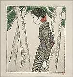 竹久夢二『松原』復刻木版画 「セノオ楽譜」表紙画大全集セット 松永版