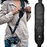 HiiGuy Camera Strap Dslr Nikon l Canon,Extra Long Neck Strap with Quick Release,Safety Tether, DSLR included eBook And 3 Years Warranty - (2019 Version)
