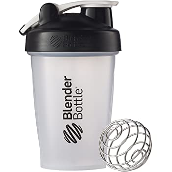 Blender Bottle(ブレンダーボトル) 【日本正規品】 Blender Bottle Classic w/Loop Clear 20オンス(600ml) BBCLWL20 BK