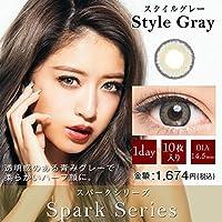 ドープウィンクワンデー スパークシリーズ 10枚入 【スタイルグレー】 -3.25
