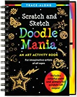 Doodle Mania Scratch & Sketch (Trace-Along Scratch and Sketch)