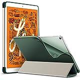 ESR iPad Mini 5 2019 ケース 薄型 PU レザー スマート カバー ソフト TPU 背面 ケース キズ防止 三つ折り スタンド オートスリープ ウェイクアップ 機能 iPad Mini5(第五世代) 専用(ダークグリーン)