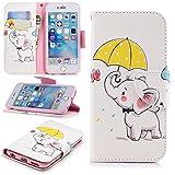 Lomogo iPhone6Sケース/iPhone6ケース 手帳型 耐衝撃 レザーケース 財布型 カードポケット スタンド機能 マグネット式 アイフォン6S/6 手帳型ケース カバー 人気 - LOBFE11241#8