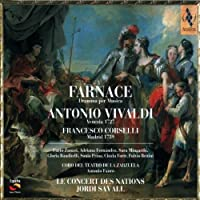 Vivaldi - Farnace / Zanasi, Fernandez, Mingardo, Banditelli, Prina, Forte, Bettini, Le Concert des Nations, Savall (2002-09-10)