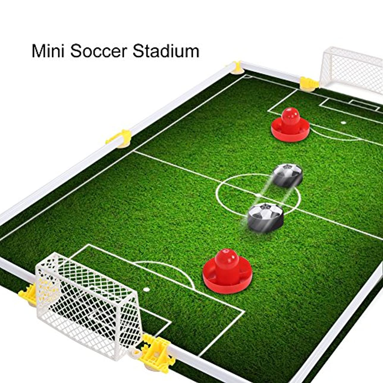 公式本会議一見室内用 エアサッカーフルセット サッカーゲーム玩具セット サッカーゴール 親子ゲーム 対戦 子供おもちゃ プレゼント