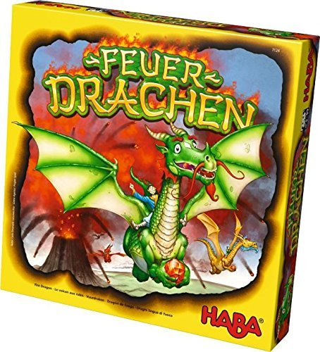 HABA ハバ Fire Dragons - An Explosive Collecting Competition Family Board Game ゲーム for Ages 5 and Up [並行輸入品]