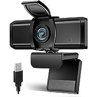 WEBカメラ Wansview ウェブカメラ フルHD 1080P 200万画像 90°広角 パソコンPCカメラ USB…