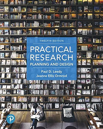 Download Practical Research: Planning and Design (12th Edition) 0134775651