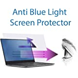 Anti Blue Light Screen Protector (3 Pack) for 15.6 Inches Laptop. Filter out Blue Light and relieve computer eye strain to he