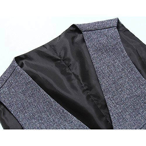 YFFUSHI ベスト メンズ 春秋冬夏対応 大きいサイズ M-4XL 多柄 スーツ生地 きれいめ ファッション 合わせやすい カジュアル ビジネス フォーマル 美シルエット ジレ 無地 ストライプ