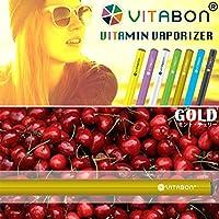 ビタボン GOLD ミント&チェリー ビタミン水蒸気スティック 電子タバコ ゴールド