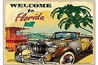 冷蔵庫用マグネット Fridge Magnet Holiday Travel Agency Florida Beach