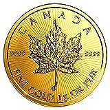 2017年製 メイプル金貨 1g カナダ王室造幣局発行 1gの純金 品位:K24 (99.99%)