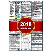 """2018ネブラスカ州および連邦労働法ポスター–ラミネート24"""" x 40"""""""