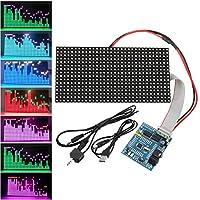 Prament 16X32 カラフルな音楽スペクトラム STM32 LED ライト周波数表示組み立てドットマトリックスボード