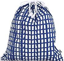 ルネ・デュー 北欧デザイン 巾着袋 Studio Hilla 大 ピック ブルー 15430010