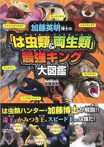 加藤英明博士の「は虫類&両生類」最強キング大図鑑