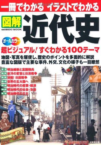 一冊でわかるイラストでわかる図解近代史—地図・写真を駆使 超ビジュアル100テーマ オールカラー (SEIBIDO MOOK)
