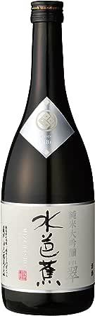 日本酒 水芭蕉 純米大吟醸 翠(すい)(群馬県産地酒)720ml