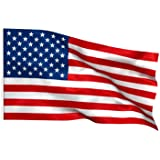 American Flag - Large USA Flag - Stars and Stripes - 5ft x 3ft - Flag Sporting Events July 4th - by TRIXES