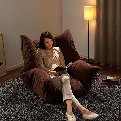 マルチリクライニング コンパクトソファ(座椅子) ハイバックタイプ 509015(サイズはありません ウ:オレンジ)