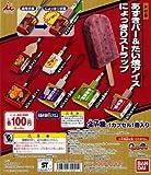 ガシャポン 井村屋あずきバー&たい焼アイス にょっきりストラップ 全7種セット