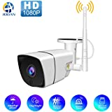 Wireless 1080P Outdoor WiFi Security Camera,JOOAN 2MP HD IP Home Surveillance Camera System with Super Night Vision,Motion De