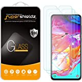 [3-Pack] Supershieldz for Samsung Galaxy A70 Tempered Glass Screen Protector, Anti-Scratch, Bubble Free, Lifetime Replacement