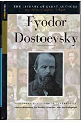 Feodor Dostoevsky (Sparknotes Library of Great Authors) Hardcover