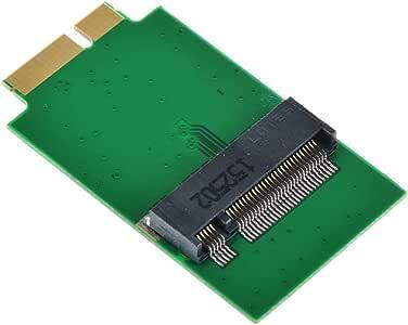 M.2 NGFF 2280 SATA SSD → APPLE 2011 2010 Macbook air A1369 A1370 MC965 MC966 MC968 MC969 64G 512G SSD 変換アダプター