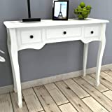 vidaXL Console Table French Provincial 3 Drawer Dressing Hall Sideboard Desk