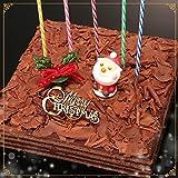 クリスマスケーキ チョコレートケーキ ボヌール・カレ【お届け:指定ない場合12月22日】[凍]30年変わらぬおいしさ[凍]ココア生地とガナッシュクリームの8層サンドxmasケーキ