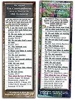 The Ten Commandments–パックof 25カード 2x6