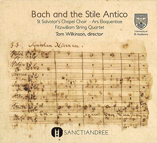 SAND0003 「バッハと古様式」 トム・ウィルキンソン(指揮)聖サルヴァトール・チャペル合唱団、...