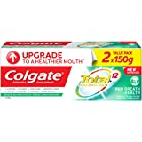 Colgate Total Pro Breath Health Antibacterial Toothpaste Valuepack 150g x 2