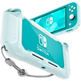 Spigen Rugged Armor Designed for Nintendo Switch Lite Case (2019) - Frost Clear