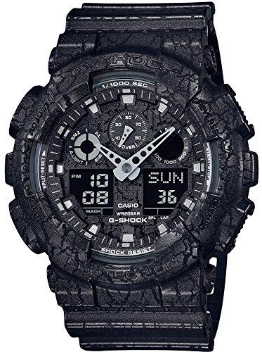 [カシオ]CASIO 腕時計 G-SHOCK Cracked Pattern GA-100CG-1AJF メンズの詳細を見る