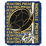 NHL Nashville Predators 48x 60-inch Double PlayジャカードTriple Woven Throw