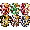 マルちゃん 和風麺カラフル6種×2個ずつ 合計12個セット 1,250円送料無料!【赤いきつね、緑のたぬき、白い力もち、紺のきつねそば、黒い豚カレーうどん等】