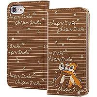 レイ・アウト iPhone8 / iPhone7 ケース 手帳型 ディズニーキャラクター スタンディング カーシヴ チップ&デール RT-DP14T/CD