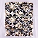 袋帯 正絹西陣織 浮花更紗文 龍村美術織物【未仕立て】  #41