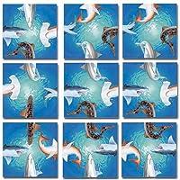 Scramble Squares: Sharks [Floral] [並行輸入品]