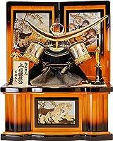 五月人形 吉徳大光 25号上杉謙信着用収納兜 着用兜 兜飾り 鯉のぼり 端午の節句 初節句 お祝い 武将 吉徳