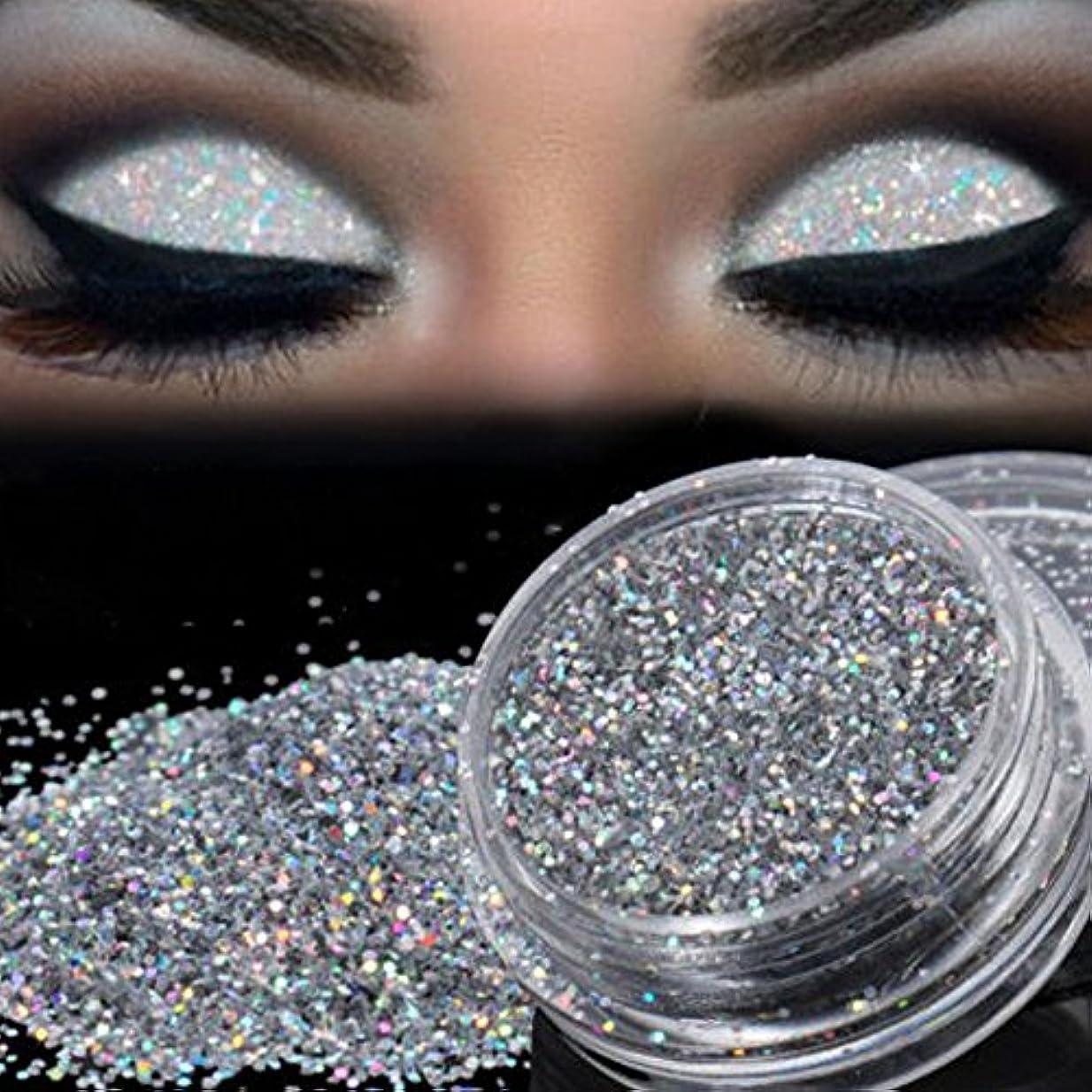 アベニュー不適切なアメリカ2018新番 化粧品 アイシャドウ Timsa 欧米風 アイシャドーパウダー ダイヤモンドグリッター スパークリングアイズ 極め細い パウダーアイシャドウ 2色選択 (A)