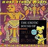 癒しのバリミュージックCD 『The Exotic Sound of Bali & Sunda』 バリ雑貨 癒し系CD ヒーリングミュージック