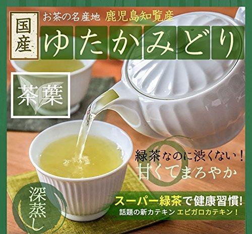 M 鹿児島知覧 深むし煎茶 ゆたかみどり (100g(1袋)) /セ/水出し 煎茶 冷茶